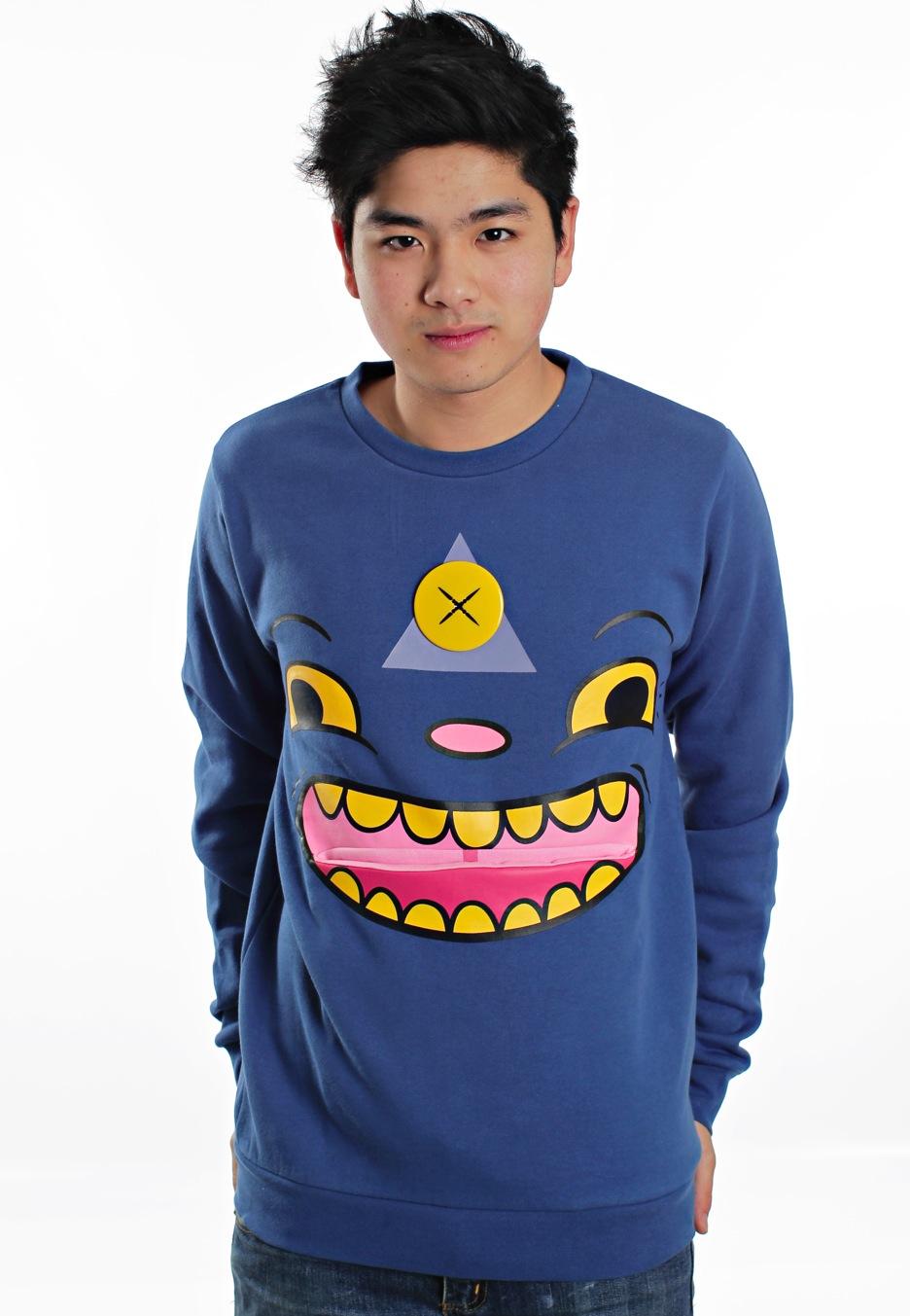 Drop Dead - Tripster Blue - Sweater - Impericon.com Worldwide