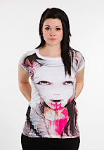 Drop Dead - Vampiress White - Girly
