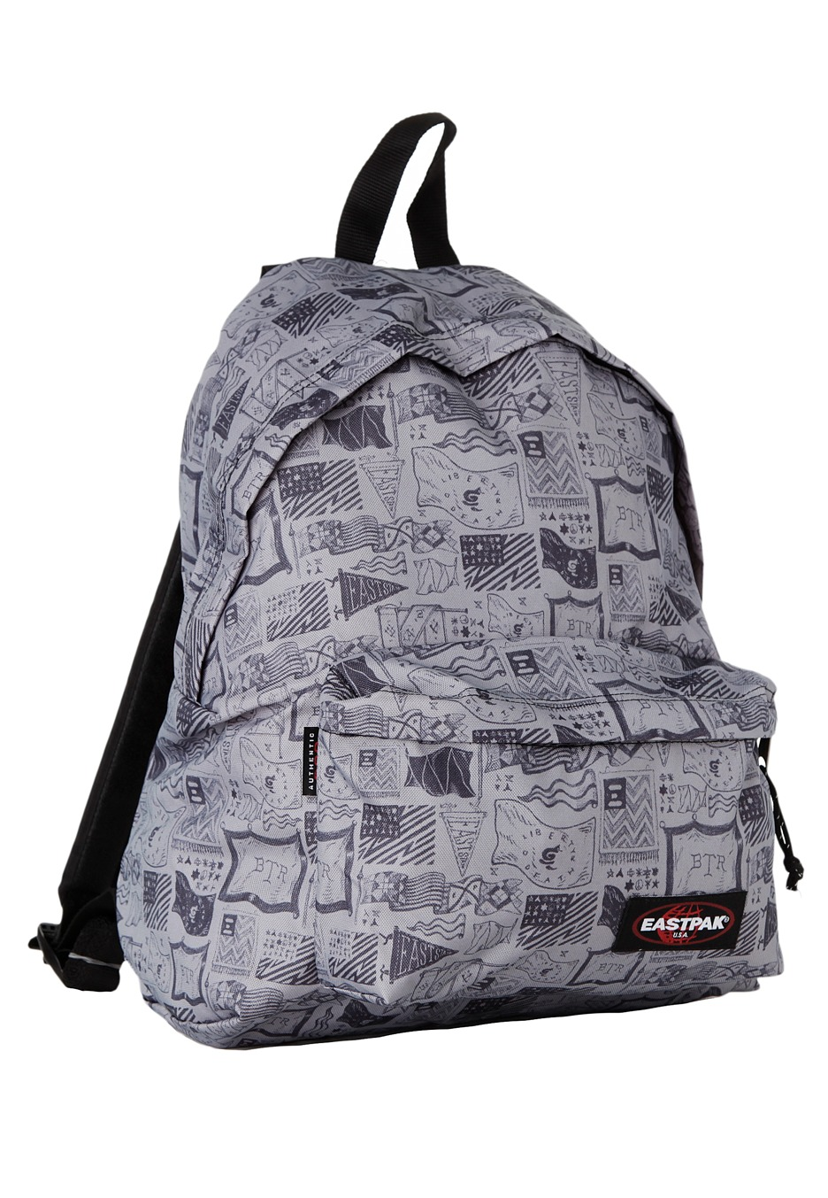 eastpak padded pak r sketched flags sac a dos