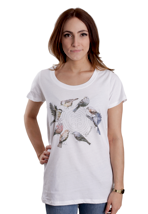 Element - Feathered Friends White - Girly