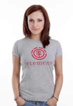 Element - Logo Grey Heather - Girly