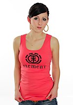 Element - Logo Singlet Rose Tea - Girl Tank