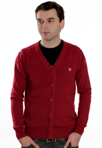 Element - Pause 2 Jester Red - Cardigan
