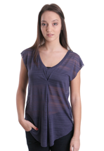 Element - Sabrina III Indigo - V Neck Girly