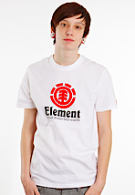 Element - Vertical White - T-Shirt