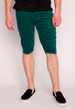 Emerica - HSU Cord Dark Teal - Shorts