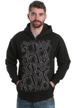 Eskimo Callboy - Dashed Logo - Zipper