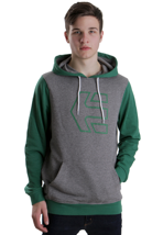 Etnies - Icon Scribble Grey/Green - Hoodie