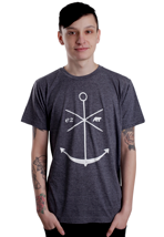 Ezekiel - Adrift Heather Midnight Navy - T-Shirt