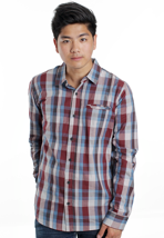 Ezekiel - Carrol Burgundy - Shirt