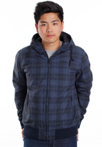 Ezekiel - Emmett Plaid Navy - Jacket
