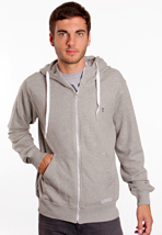 Ezekiel - Focus Heather Gray - Zipper