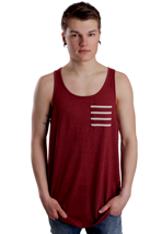Ezekiel - Pepper Red - Tank