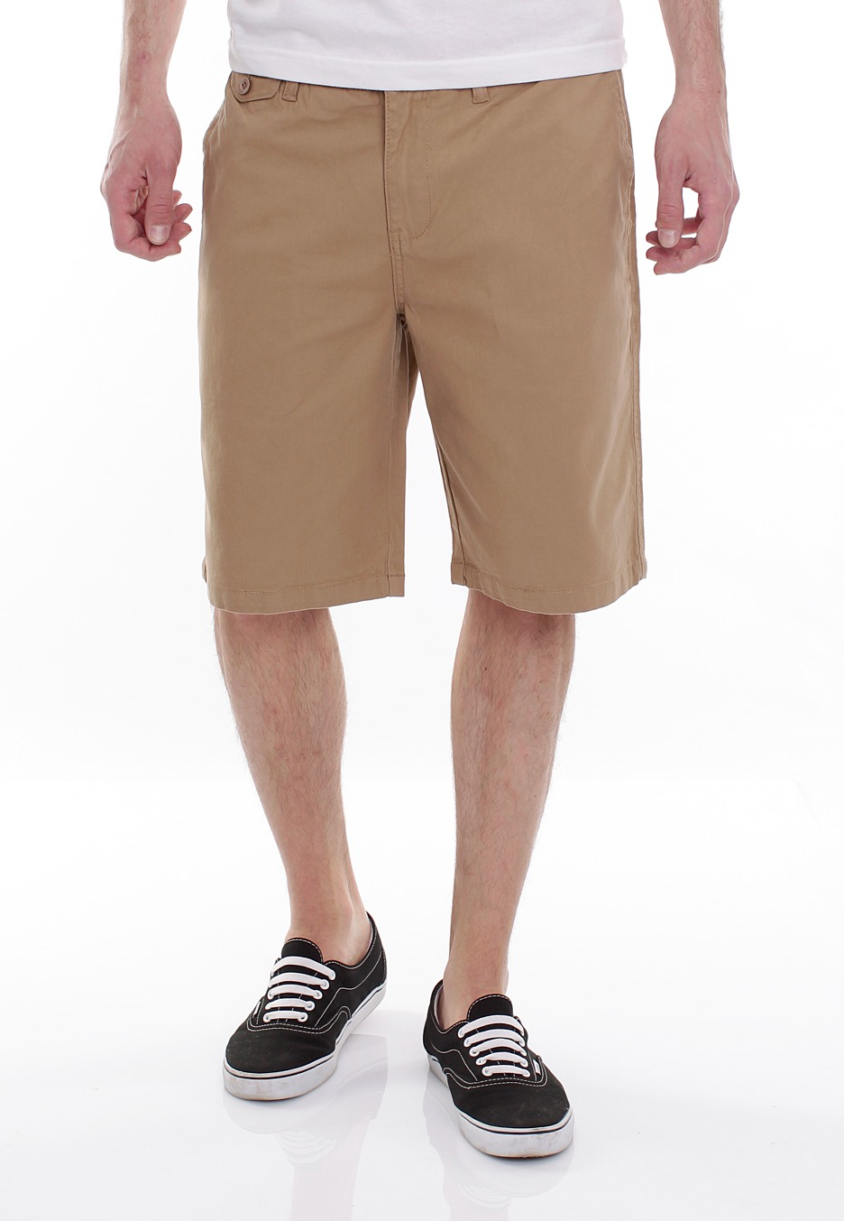 Khaki shorts are a necessary staple of any wardrobe. Ideal for spring and summer weather, these shorts are as versatile as they are comfortable, and American .