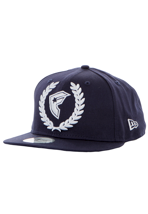 Famous Stars And Straps - Wreath BOH Navy/White Snapback - Cap
