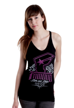 Famous Stars And Straps - Foundation - Girl Tank