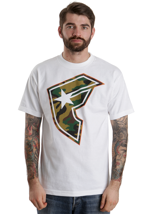 Famous Stars And Straps - Hunter BOH White/Orange/Camo - T-Shirt