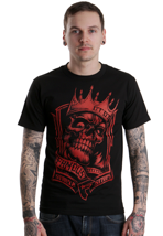 Famous Stars And Straps - King Black/Red - T-Shirt