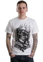 Famous Stars And Straps - King White/Black - T-Shirt