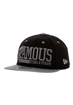Famous Stars And Straps - Think Fast Black/Grey/White Snapback - Cap