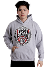 First Blood - FBHC Sportsgrey - Hoodie