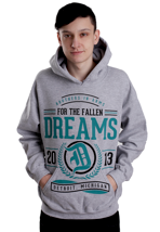 For The Fallen Dreams - Where Were You Sportsgrey - Hoodie