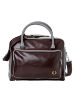 Fred Perry - Classic Holdall Maroon/Grey - Bag