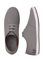 Fred Perry - Finn Twill Cloudburst/Maroon - Shoes