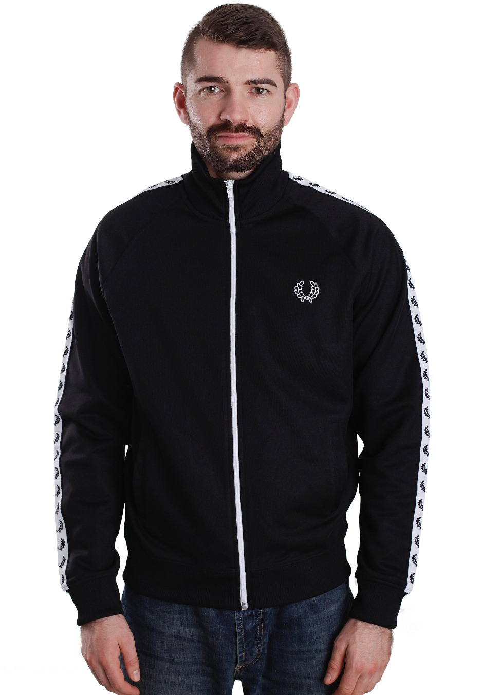 fred perry trainingsjacke oberhof. Black Bedroom Furniture Sets. Home Design Ideas