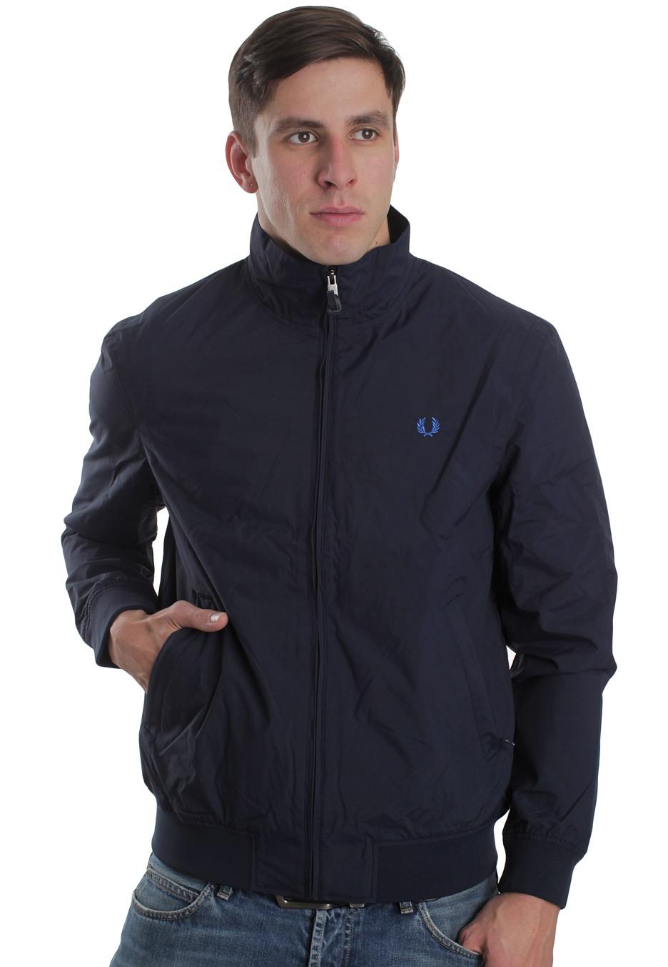 fred perry sailing blue granite jacket streetwear shop worldwide. Black Bedroom Furniture Sets. Home Design Ideas