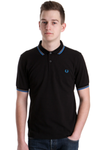 Fred Perry - Slim Fit Twin Tipped II - Polo
