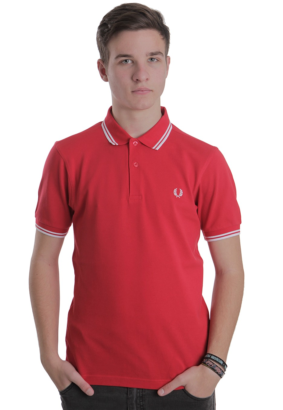 fred perry polo red. Black Bedroom Furniture Sets. Home Design Ideas