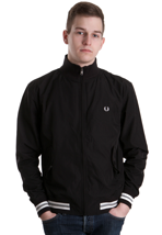 Fred Perry - Tipped Microfibre Black/Snow White - Jacket