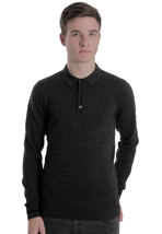 Fred Perry - Vintage Marl Vintage Graphite Marl - Sweater
