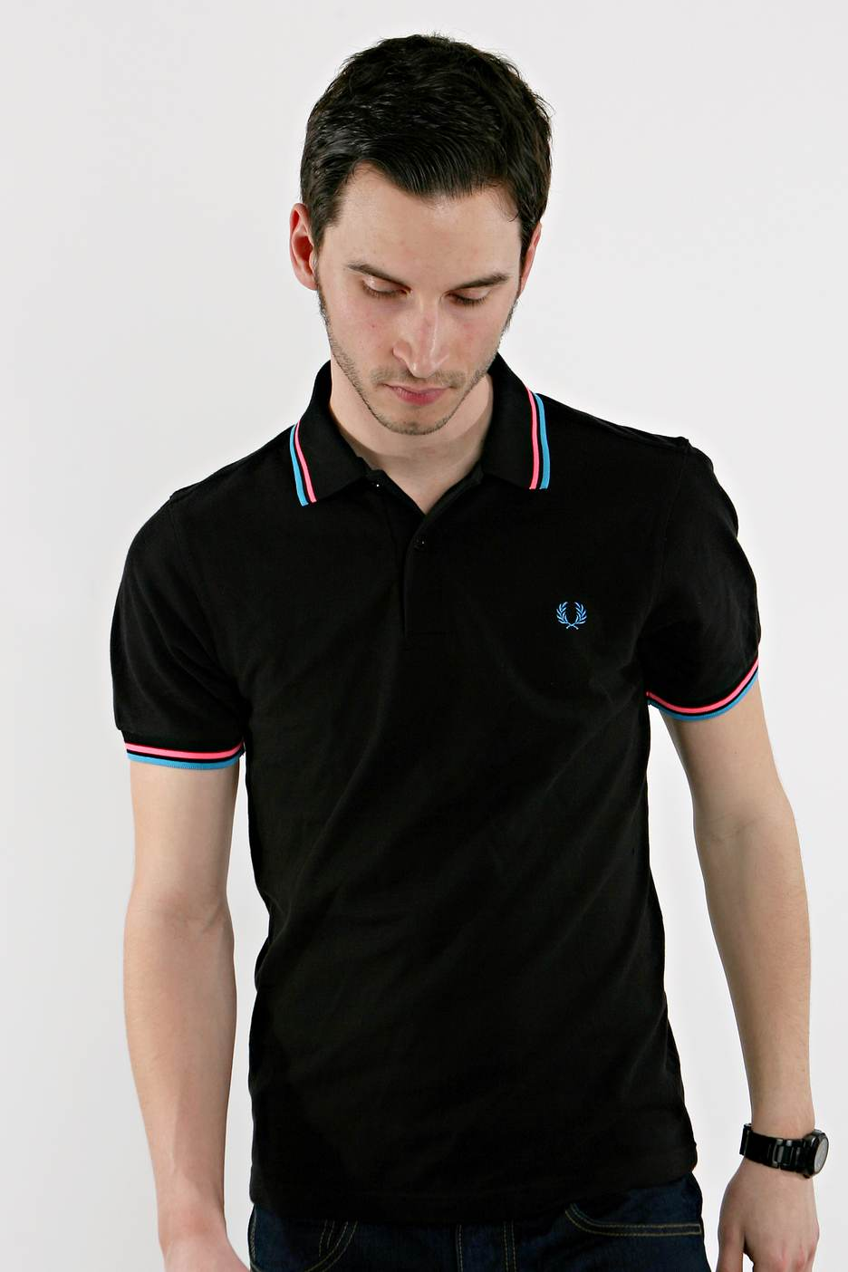 fred perry twin tipped black polo streetwear shop. Black Bedroom Furniture Sets. Home Design Ideas