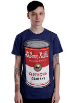 Glamour Kills - In The Can Midnight Navy - T-Shirt