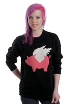 Glamour Kills - When Pigs Fly Grandma - Girl Sweater