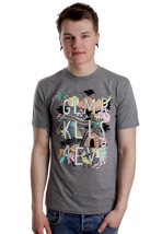 Glamour Kills - Yuttacular Medium Heather Grey - T-Shirt