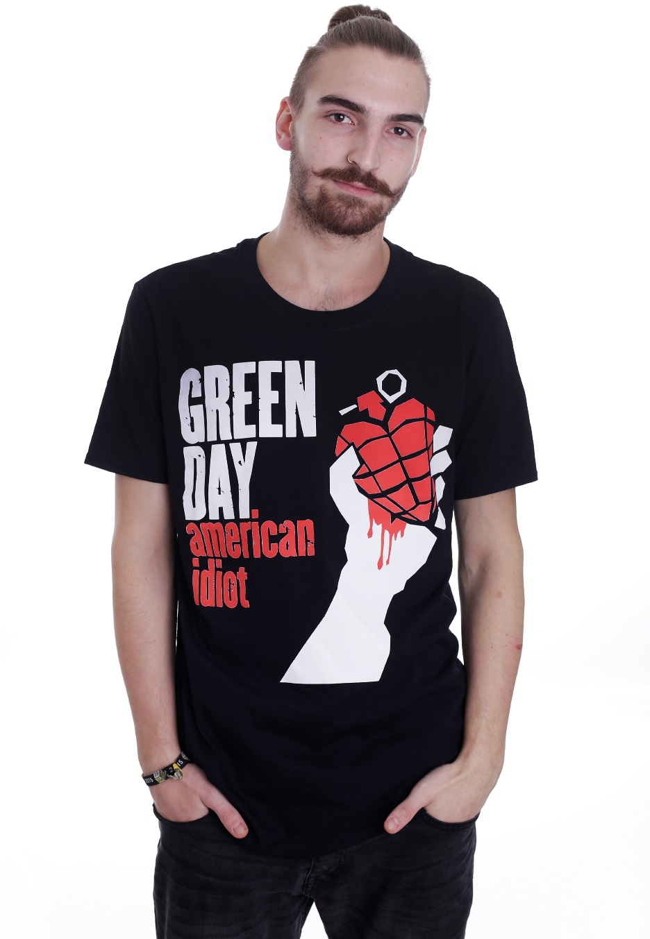 Green Day - American Idiot - T-Shirt - Official ...