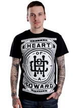 Heart Of A Coward - Crest - T-Shirt