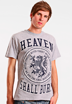 Heaven Shall Burn - Lion Sportsgrey - T-Shirt