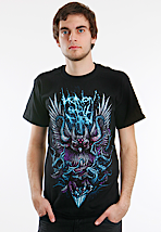 Heaven Shall Burn - Blaue Eule - T-Shirt