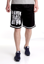 Heaven Shall Burn - Block Logo Striped - Shorts