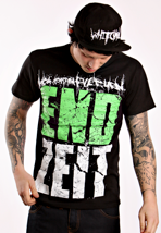Heaven Shall Burn - Endzeit Block Black/Green - T-Shirt