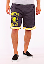 Heaven Shall Burn - Lion Yellow Striped Navy - Shorts