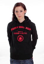 Heaven Shall Burn - Red College - Girl Hoodie