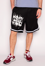 Heaven Shall Burn - Stacked Logo Striped - Shorts