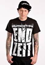 Heaven Shall Burn - Endzeit Block Black/White - T-Shirt
