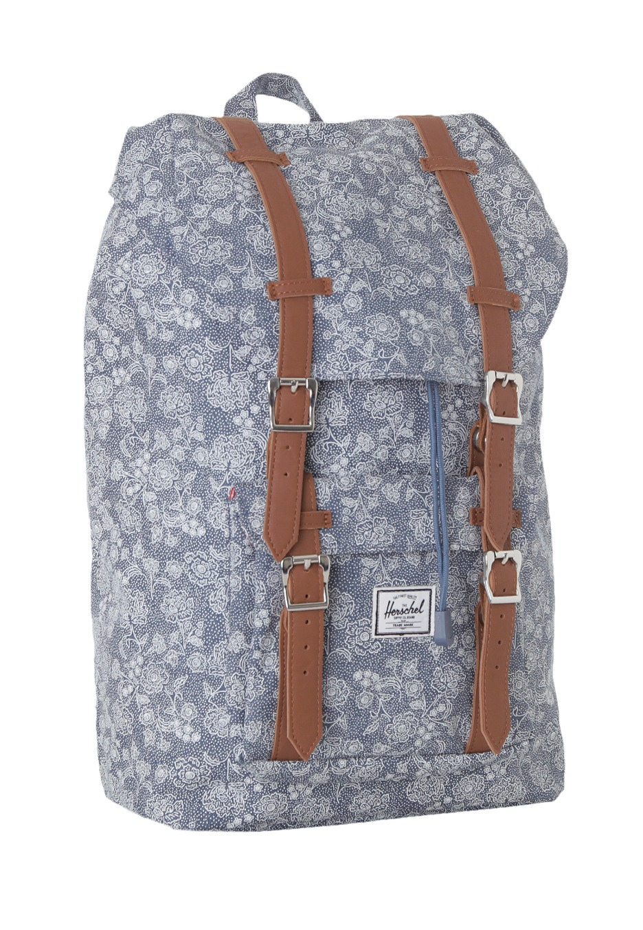 herschel little america mid volume floral chambray. Black Bedroom Furniture Sets. Home Design Ideas