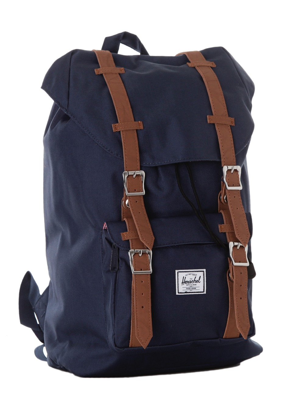 herschel little america mid volume navy backpack. Black Bedroom Furniture Sets. Home Design Ideas